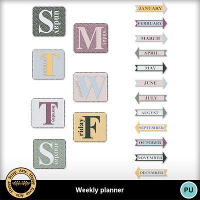 Weeklyplannerkit