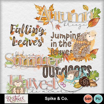 Spikeandco_wordart