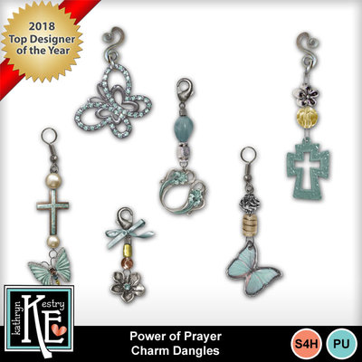 Power-prayer-charmdangles