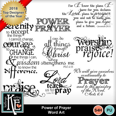 Power-prayer-wordart