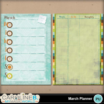 March-a4-planner-template_2