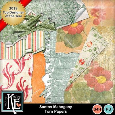 Santos-mahogany-torn-papers