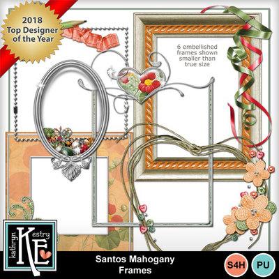 Santos-mahogany-embellished