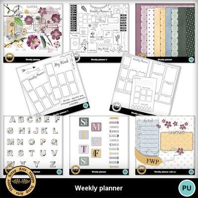 Weeklyplannersbundle