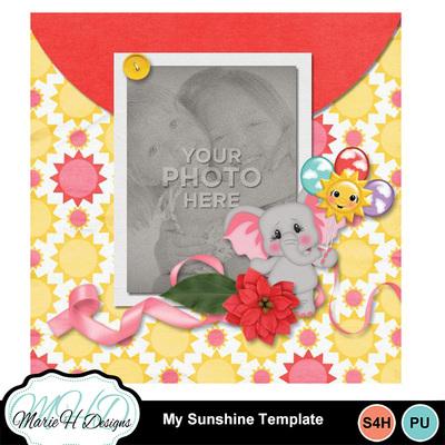 My_sunshine_template_02