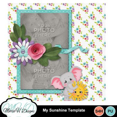 My_sunshine_template_04