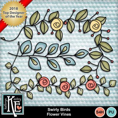 Swirlybirdsflowervines
