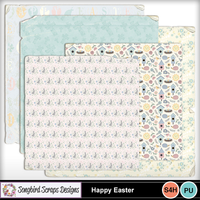 Happy_easter_worn_papers