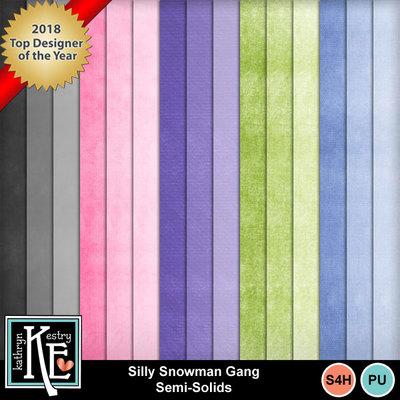 Sillysnowg-solids