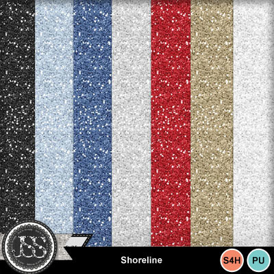 Shoreline_glitter_papers