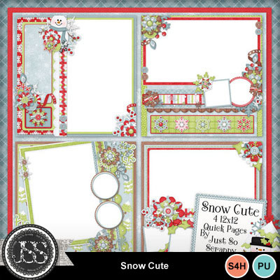 Snow_cute_12x12_quick_pages