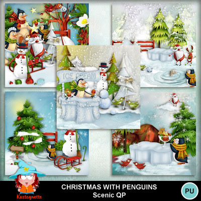 Kastagnette_christmaswithpenguins_scenicqp_pv