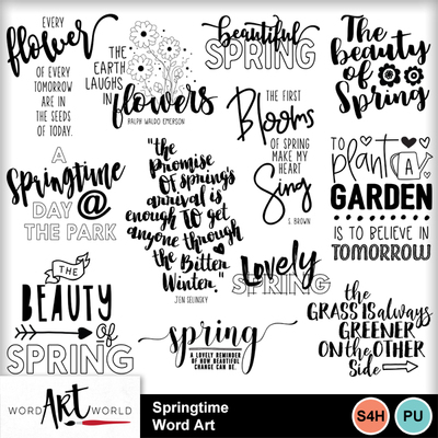 Springtime_word_art