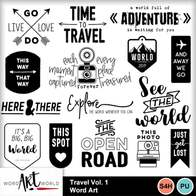 Travel_vol_1_word_art