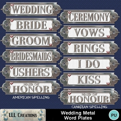 Wedding_metal_word_plates_-_1