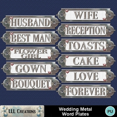 Wedding_metal_word_plates_-_2