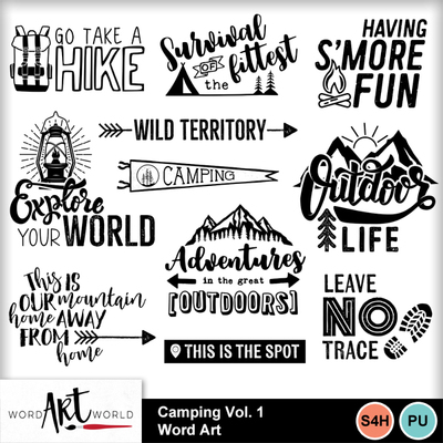 Camping_vol_1_word_art