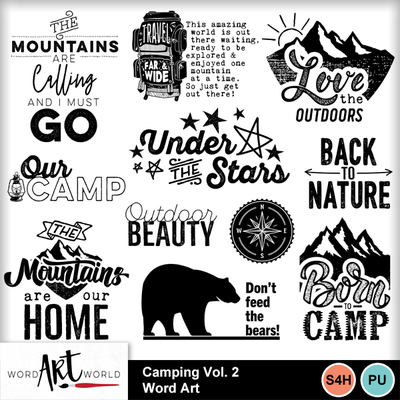Camping_vol_2_word_art