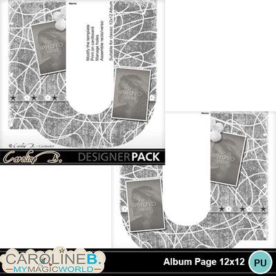 Album-page-12x12-letter-u-000