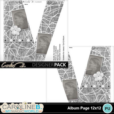 Album-page-12x12-letter-v-000