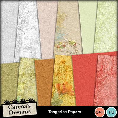 Tangarine-papers