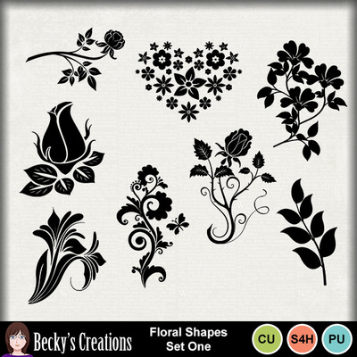 Floral_shapes_set_1