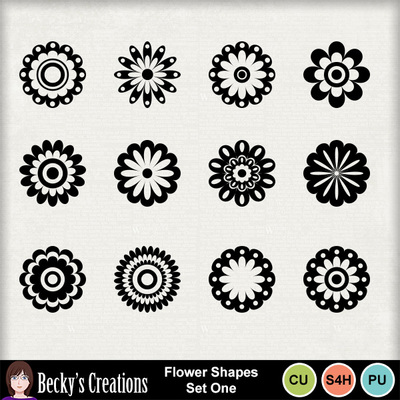 Flower_shapes_set_one
