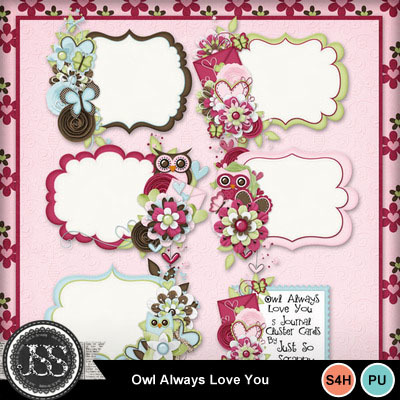 Owl_always_love_you_journal_cluster_cards