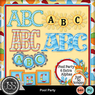 Pool_party_alphabets