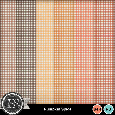 Pumpkin_spice_gingham_papers