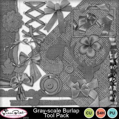 Grayscaleburlaptoolpack
