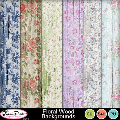 Floralwoodbackgrounds