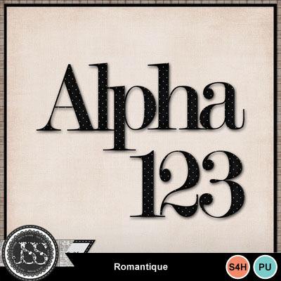 Romantique_alphabet