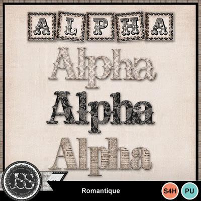 Romantique_alphabets