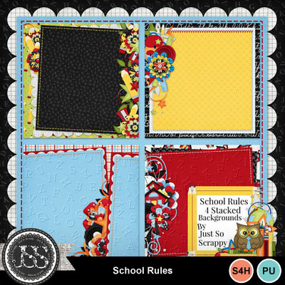 School_rules_stacked_backgrounds