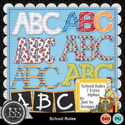 School_rules_alphabets
