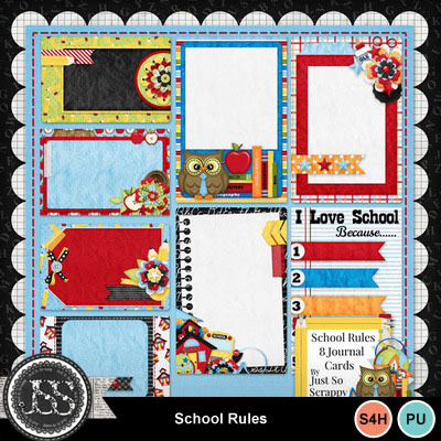 School_rules_journal_cards
