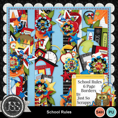 School_rules_page_borders
