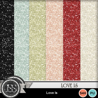 Love_is_glitter_papers