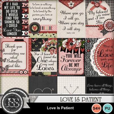 Love_is_patient_pocket_scrap_cards