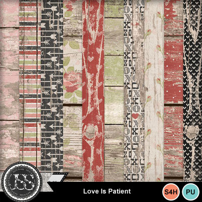Love_is_patient_wood_papers