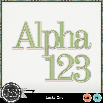 Lucky_one_alphabet