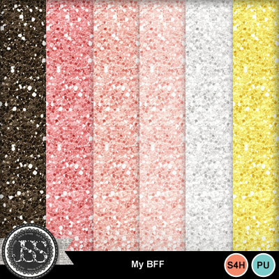 My_bff_glitter_papers
