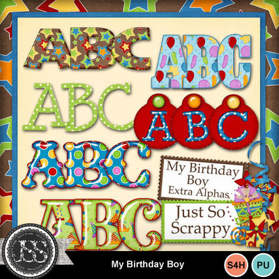 My_birthday_boy_alphabets