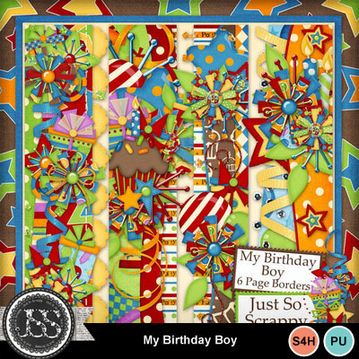 My_birthday_boy_page_borders