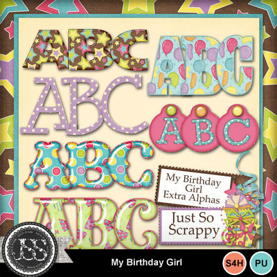 My_birthday_girl_alphabets