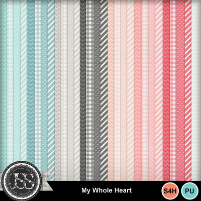 My_whole_heart_pattern_papers