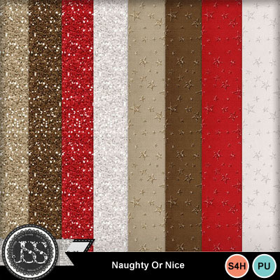 Naughty_or_nice_glitter_papers