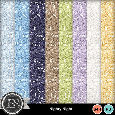 Nighty_night_glitter_papers