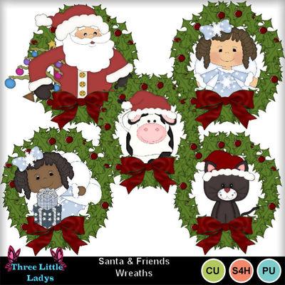 Santa_n_friends_wreaths--tll